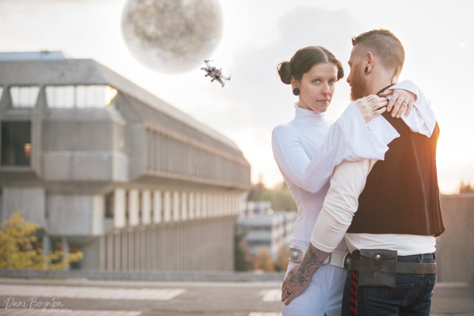 Star Wars Pre-Wedding Photoshoot – May the 4th